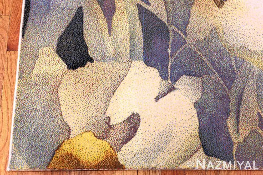 Vintage Scandinavian Georgia O Keeffe Art Rug 49998