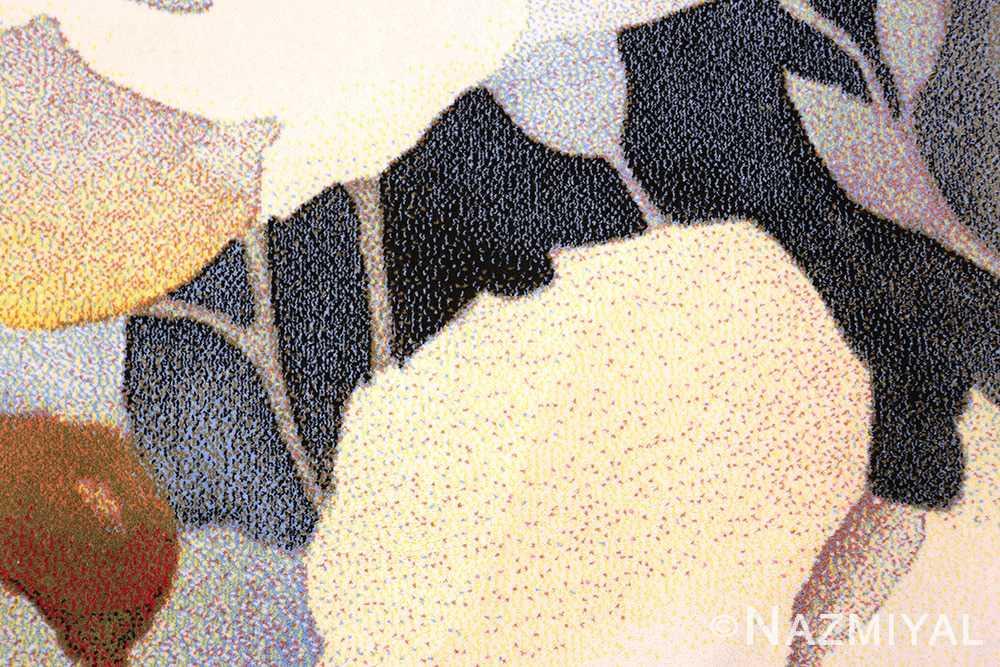 Modern Masters Art Rug Georgia O'Keeffe 49998 from Nazmiyal