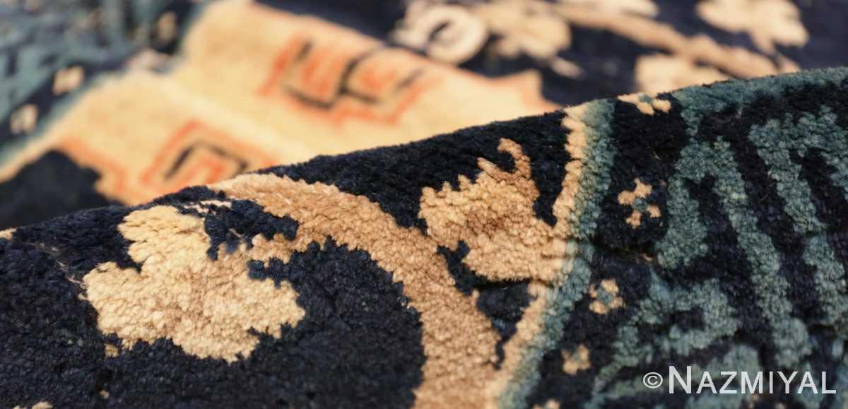 Pile Antique Chinese Horse Cover Saddle Blanket 49968 by Nazmiyal