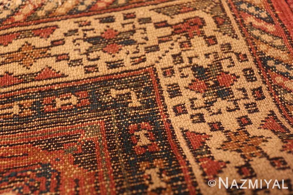 Small Antique Geometric Israeli Bezalel Rug 49975 from Nazmiyal