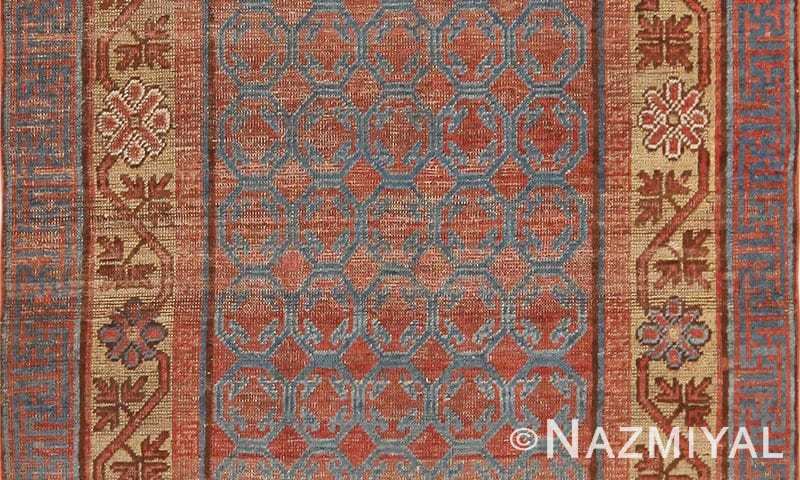 Small Antique Khotan Rug From East Turkestan 49967 by Nazmiyal