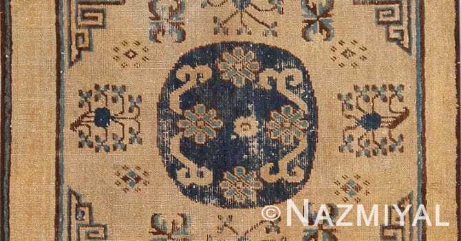 Small Antique Square Size Khotan Rug 49974 by Nazmiyal