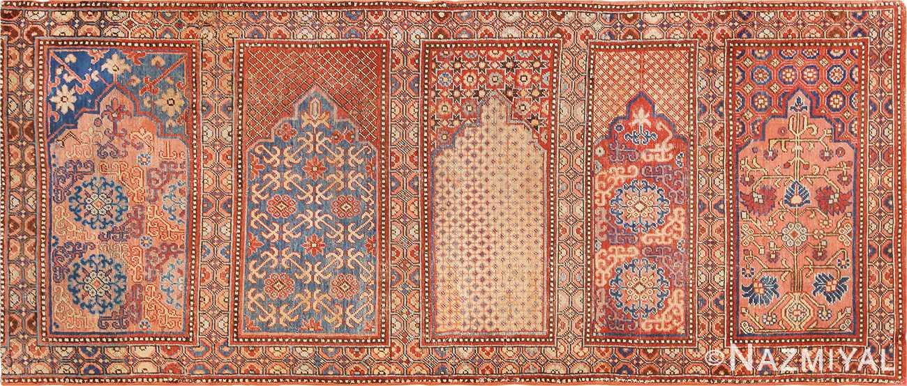1800 S Khotan Saf Prayer Rug From East Turkestan 49972 Nazmiyal Antique Rugs In Nyc
