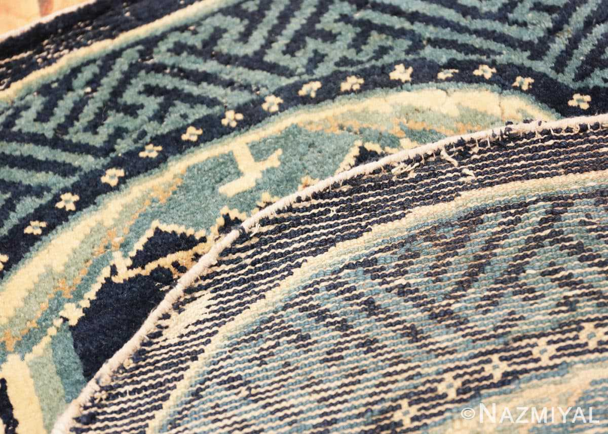 Weave Antique Chinese Horse Cover Saddle Blanket 49968 by Nazmiyal