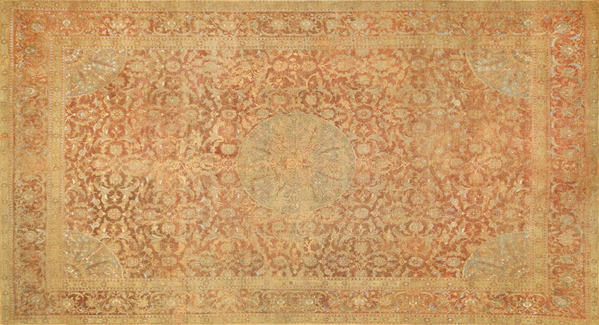 16th Century Egyptian Cairene Middle East Rug #3222 by Nazmiyal Antique Rugs