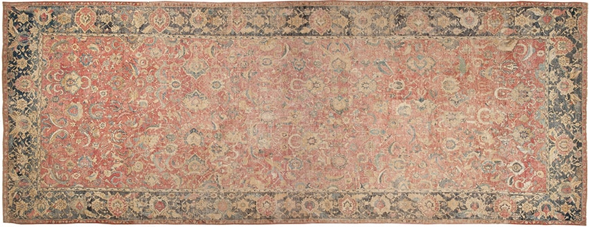17th Century Isfahan Persian Middle East Rugs #44143 from Nazmiyal Antique Rug in NYC.