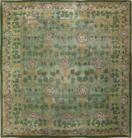 Antique Arts & Crafts Donegal Irish Rug 49913 by Nazmiyal