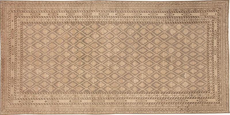 Antique Grey Color Khotan Carpet #48080 - Nazmiyal Rugs