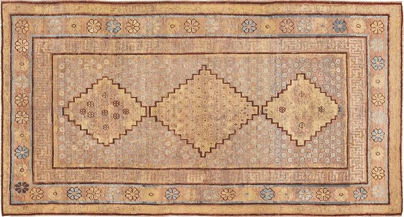 Antique Khotan Rug - Nazmiyal