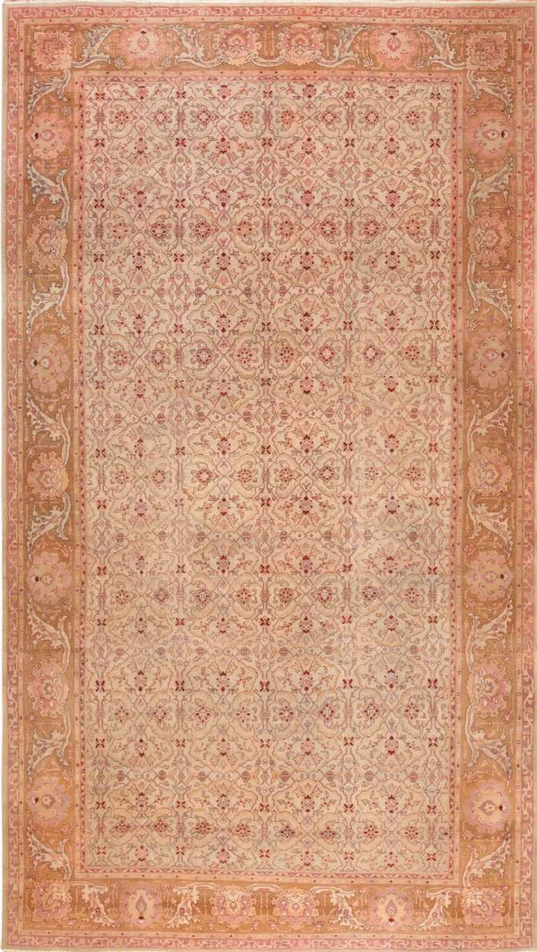 Antique Oversized Indian Amritsar Rug 49538 by Nazmiyal
