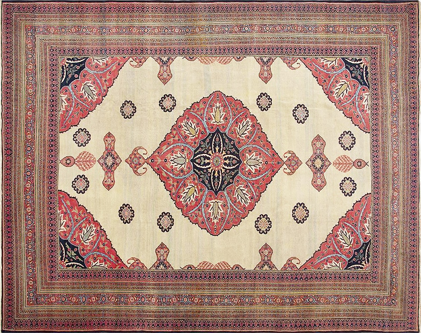 Antique Persian Doroksh Rugs - Nazmiyal Rugs NYC