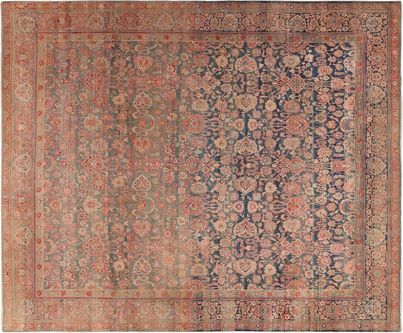 Antique Persian Kerman Rug - NAzmiyal