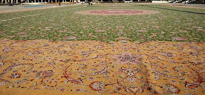 The Largest Rug In The World - Nazmiyal Antique Rugs