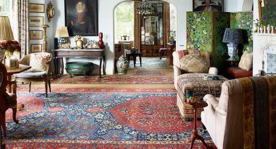 Living Room Rugs In Interiors - Nazmiyal Rugs