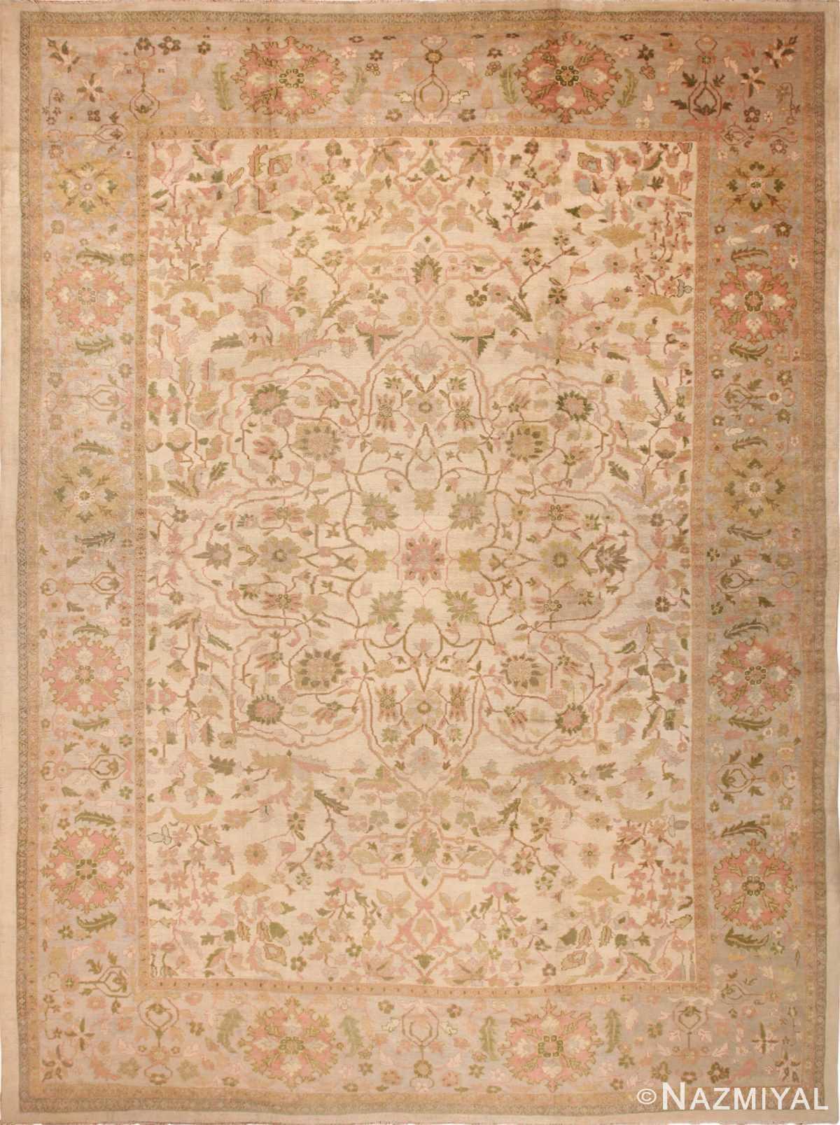 Antique Persian Sultanabad Rug 70013 by Nazmiyal