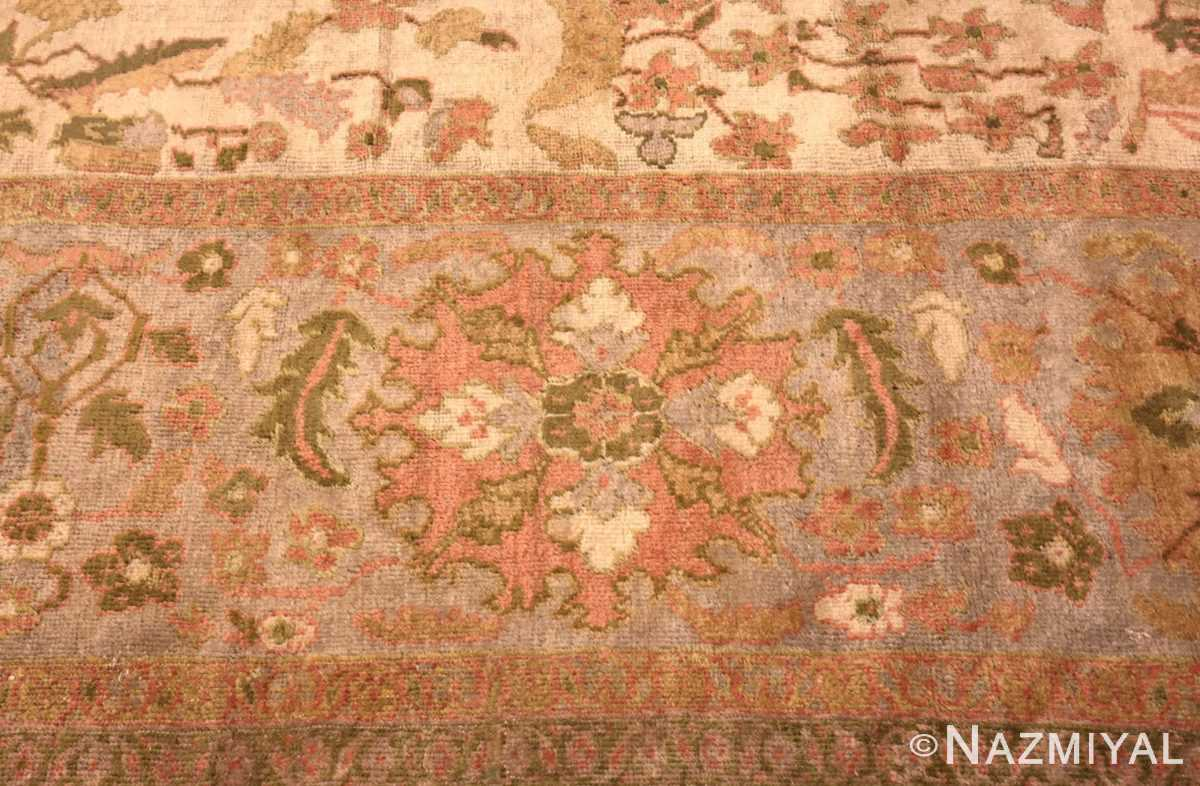 Picture of an antique Persian Sultanabad rug #70013 from the collection of Nazmiyal Antique Rugs in New York City.Antique Persian Sultanabad Rug 70013 by Nazmiyal