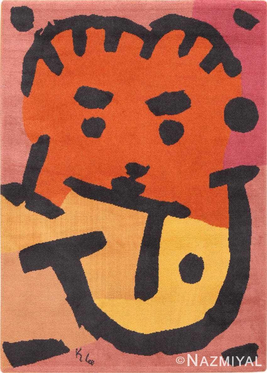 Paul Klee Art Rug Scandinavian 70005
