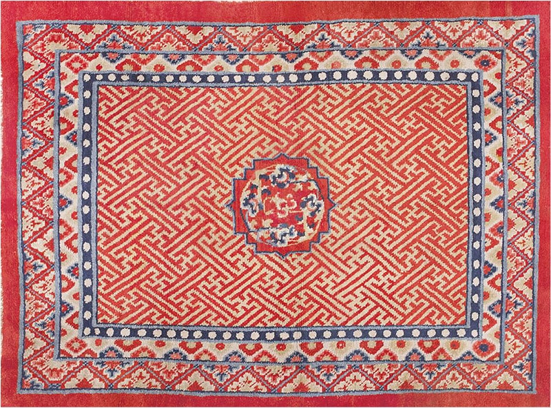 Swastika Design Antique Rugs And History Of The Swastika