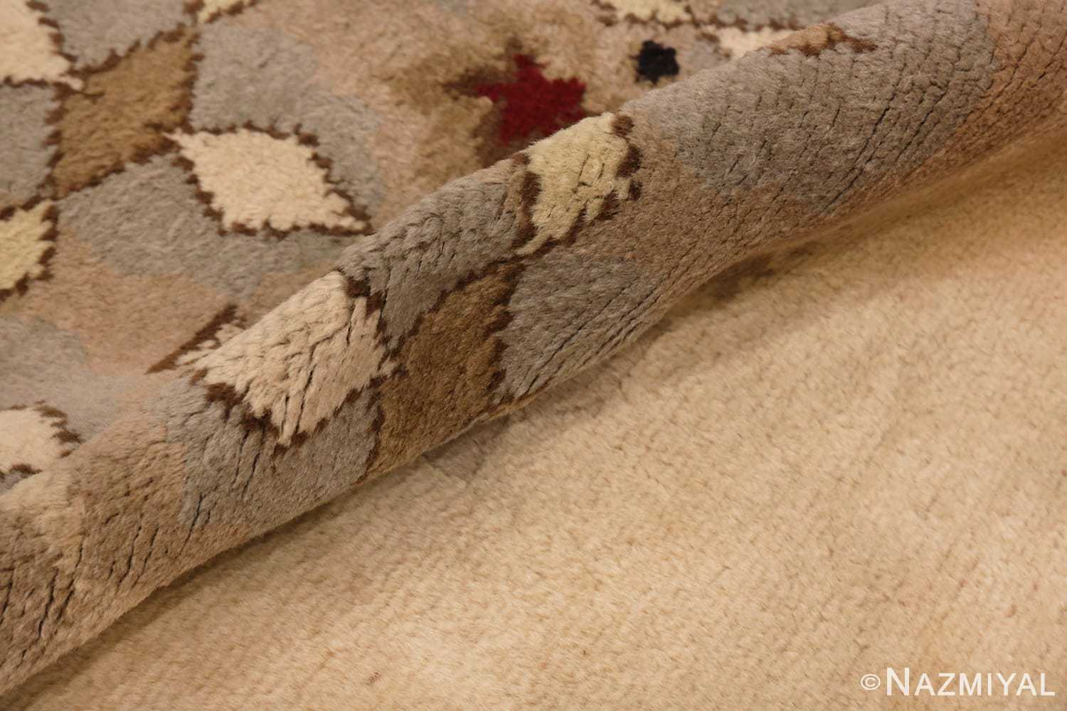 of Antique French Art Deco Leleu Rug #70027 from the collection of Nazmiyal Antique Rugs NYC