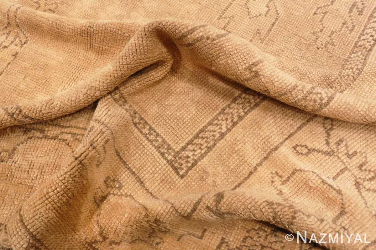 Image of Pile of Soft Antique Decorative Turkish Oushak Rug #49743 from the collection of Nazmiyal Antique Rugs NYC