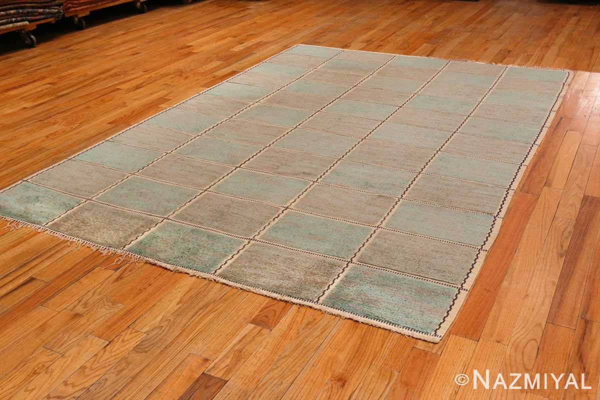 View of Vintage Pile Scandinavian Marta Maas Gyllenrutan Gron Rug #70051 from the collection of Nazmiyal Antique Rugs NYC.