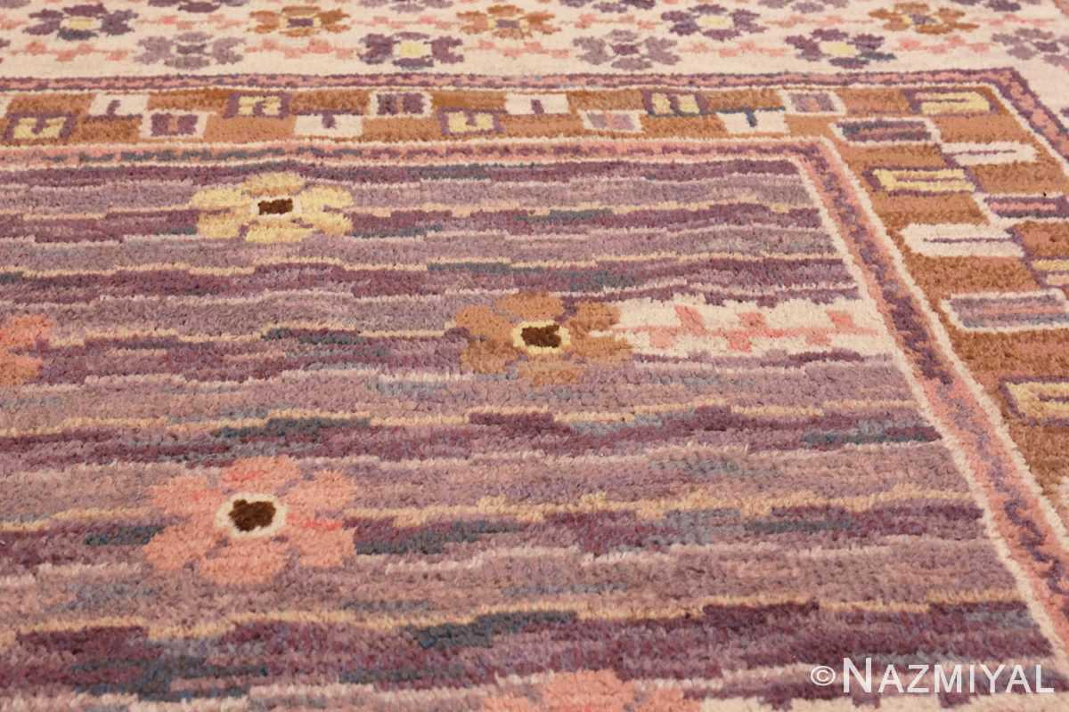 Image of Details of Vintage Pile Scandinavian Marta Maas Steninge Rug #70050 from the collection of Nazmiyal Antique Rugs NYC