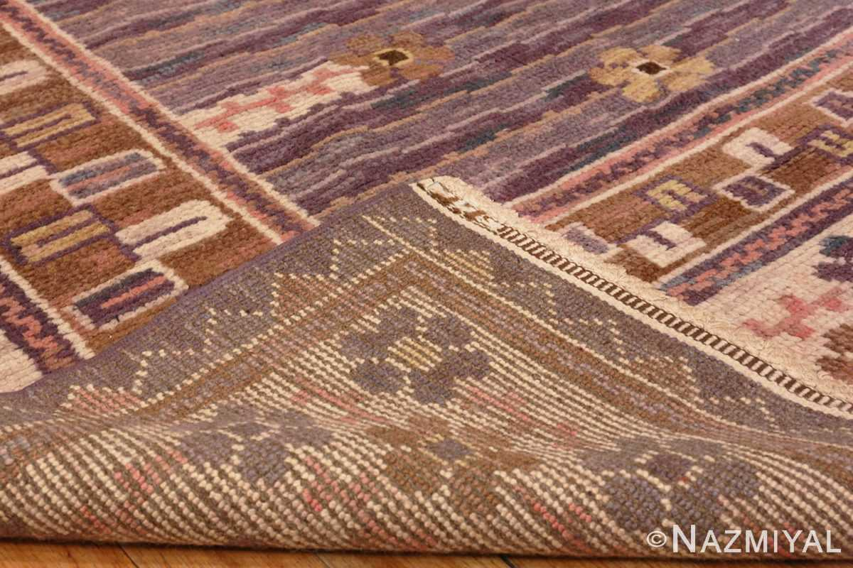 Image of Weave of Vintage Pile Scandinavian Marta Maas Steninge Rug #70050 from the collection of Nazmiyal Antique Rugs NYC