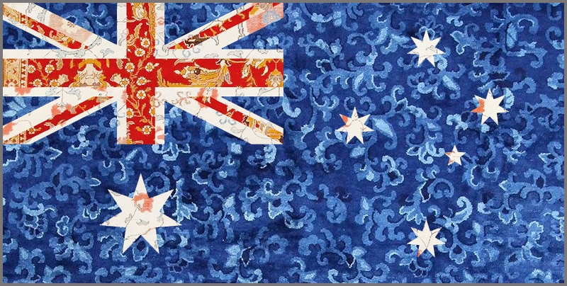 Buying Antique Rugs in Australia from Nazmiyal Antique Rugs in NYC