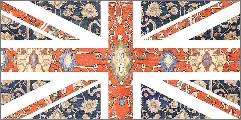 Buying Antique Rugs In The UK - United Kingdom of Great Britain From Nazmiyal Antique Rugs in NYC