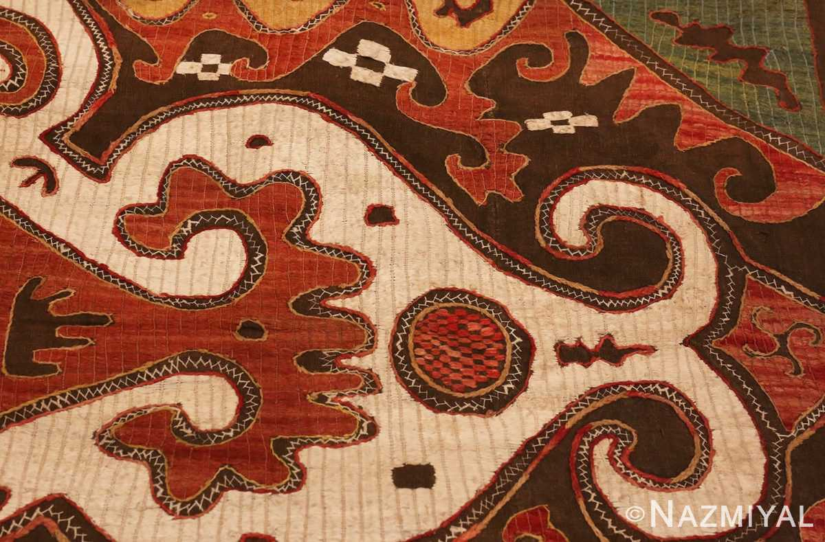 Picture of the anchor of Antique Kaitag Embroidery #49935 from Nazmiyal Antique Rugs in NYC