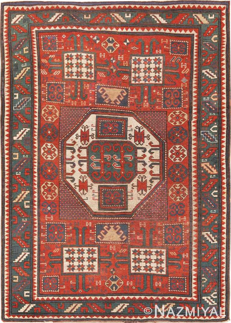 Picture of Antique Caucasian Karachopf Rug #70049 from Nazmiyal Antique Rugs in NYC