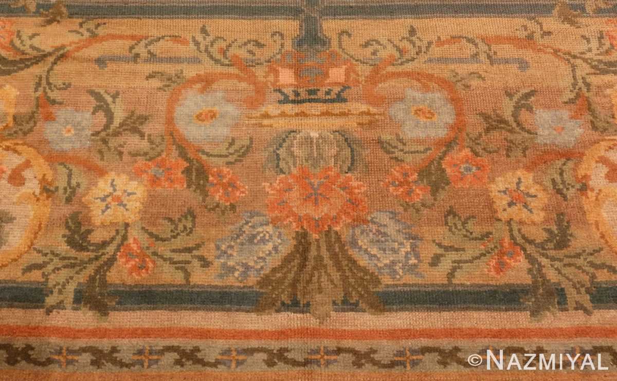 Bored Picture of Antique Spanish Savonnerie Carpet #49845 from Nazmiyal Antique Rugs in NYC