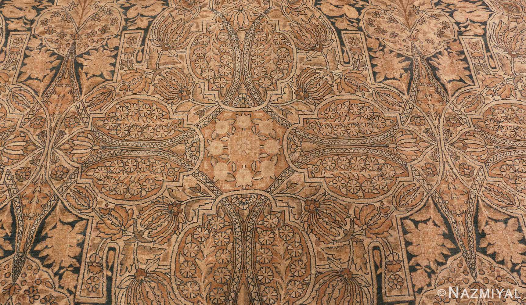 Picture of The Center Of Antique Persian Kerman Rug #42703 from Nazmiyal Antique Rugs In NYC
