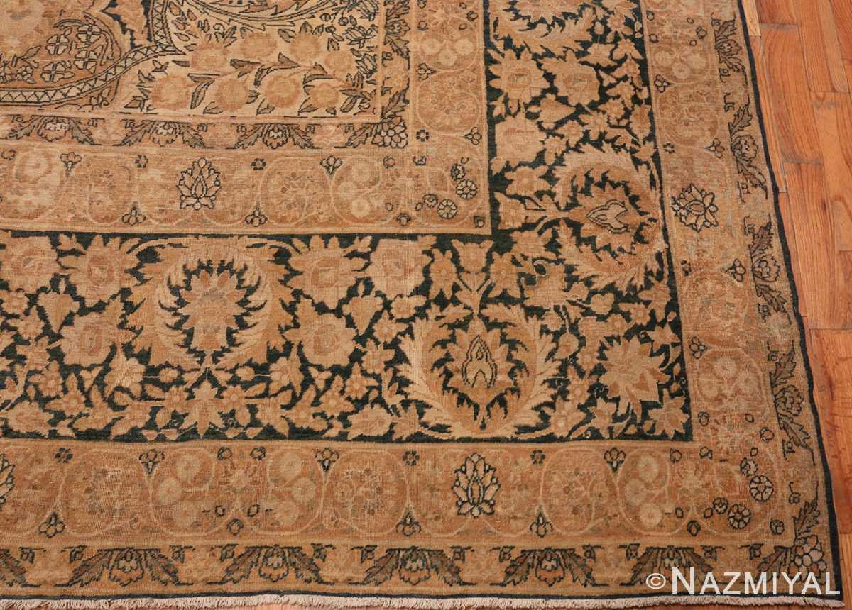 Corner Picture of Antique Persian Kerman Rug #42703 from Nazmiyal Antique Rugs in NYC