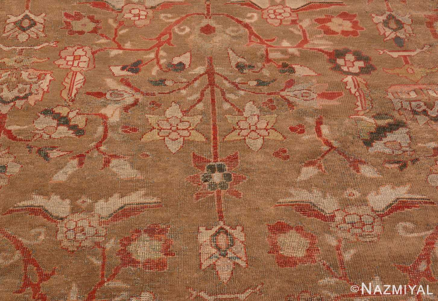 Detail Picture of Antique Persian Sultanabad Rug #48944 from Nazmiyal Antique Rugs in NYC