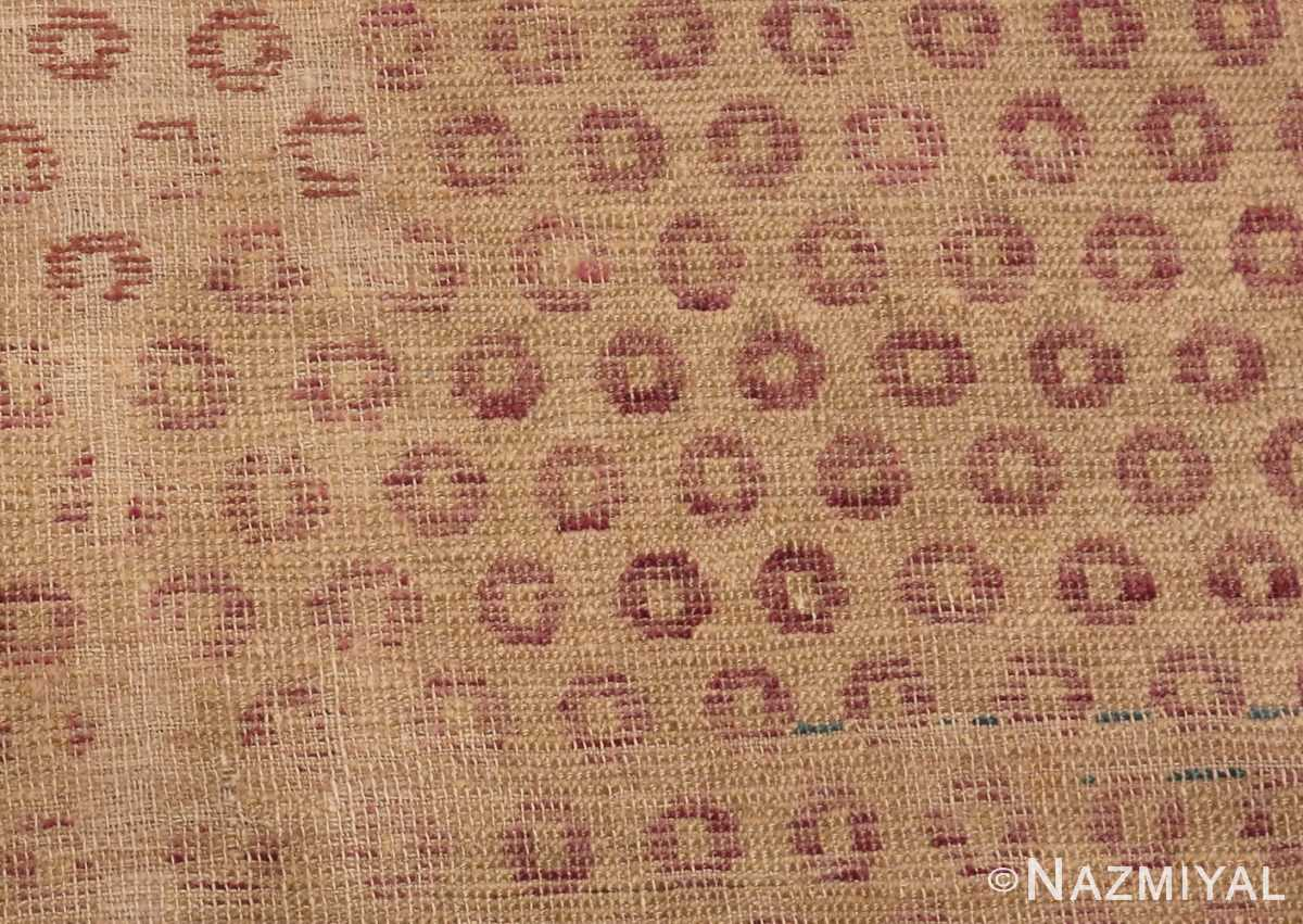 A detailed picture of Antique Shabby Chic Khotan Rug #49969 from Nazmiyal Antique Rugs in NYC