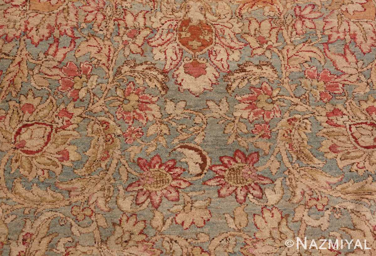A Close Up Detailed Picture of Large Antique Indian Agra Rug #48942 From Nazmiyal Antique Rugs In NYC