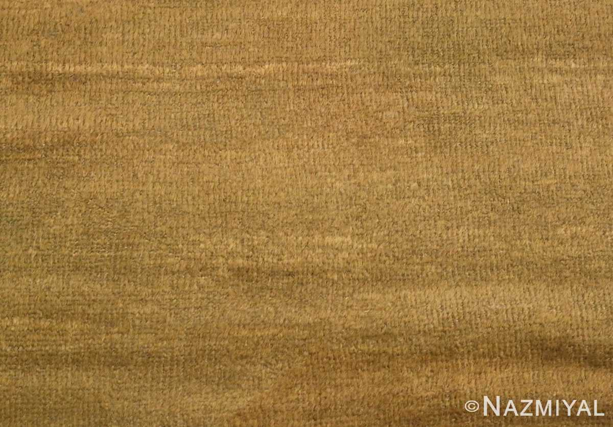 Picture of the Field of Antique Green Persian Sultanabad Rug #50335 From Nazmiyal Antique Rugs In NYC