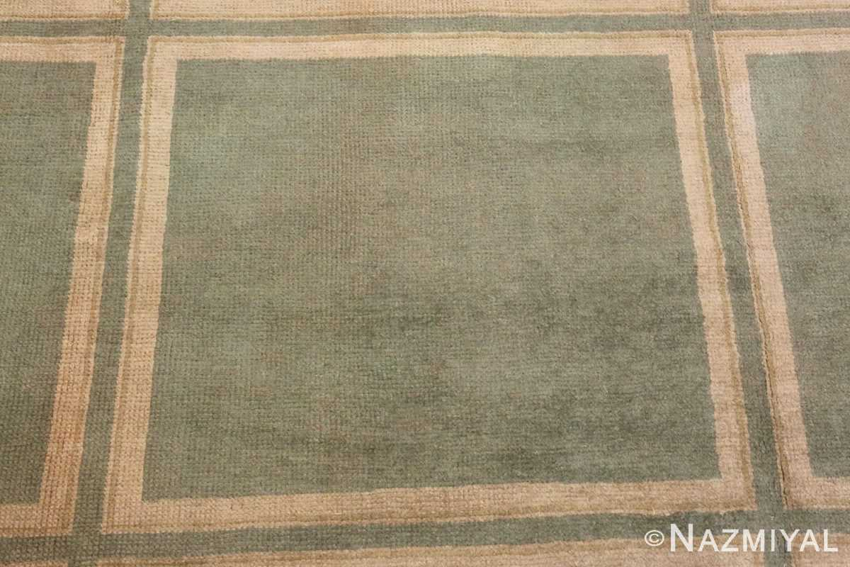 Picture of the Field of Antique Spanish Savonnerie Carpet #49845 from Nazmiyal Antique Rugs in NYC