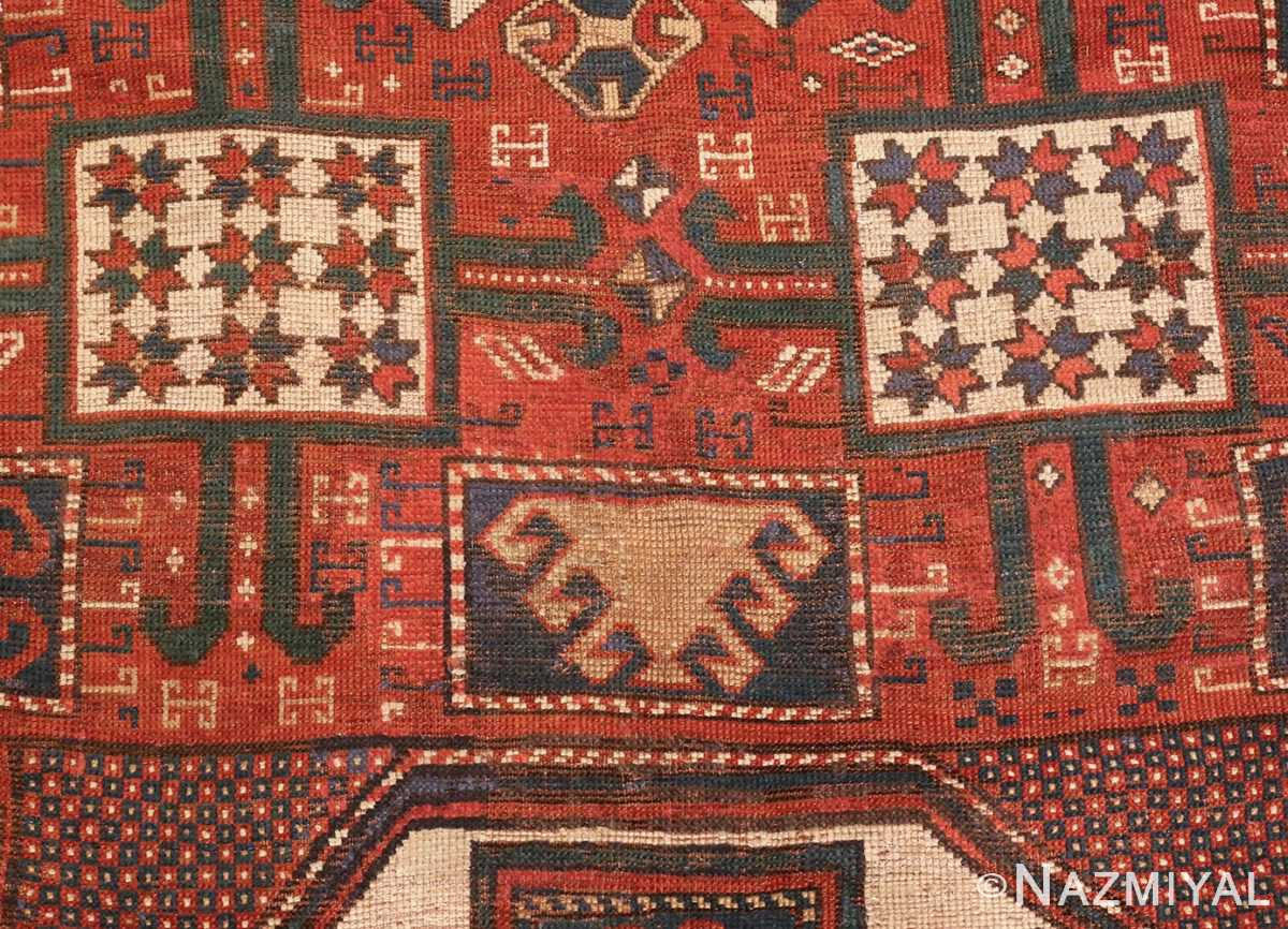 Picture of the Field Of Tribal Antique Caucasian Karachopf Rug #70049 From Nazmiyal Antique Rugs In NYC