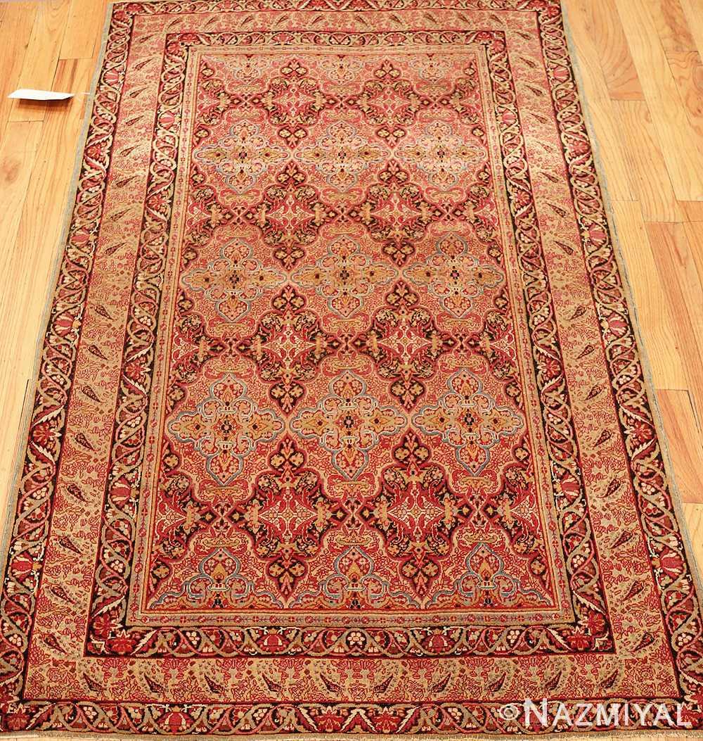 Vintage Persian Rugs: Mid 19th Century Fine Antique Persian Kerman Rug 49990