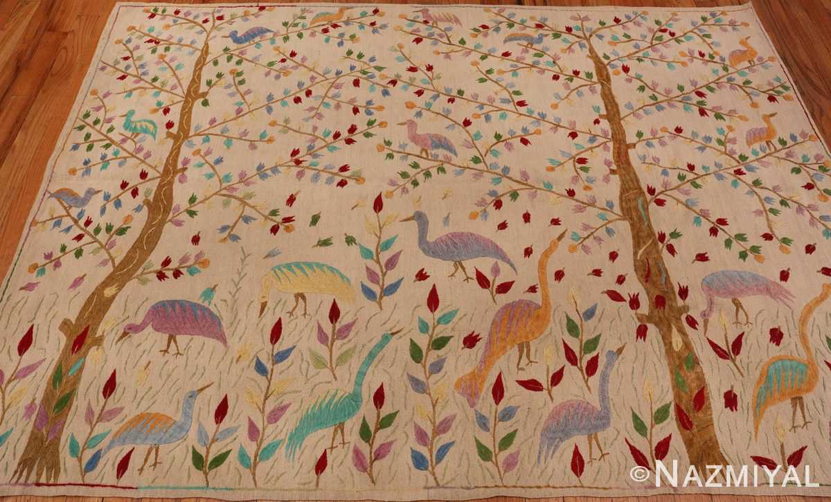 Full Picture of Vintage Garden of Paradise Indian Tapestry #70062 from Nazmiyal Antique Rugs in NYC