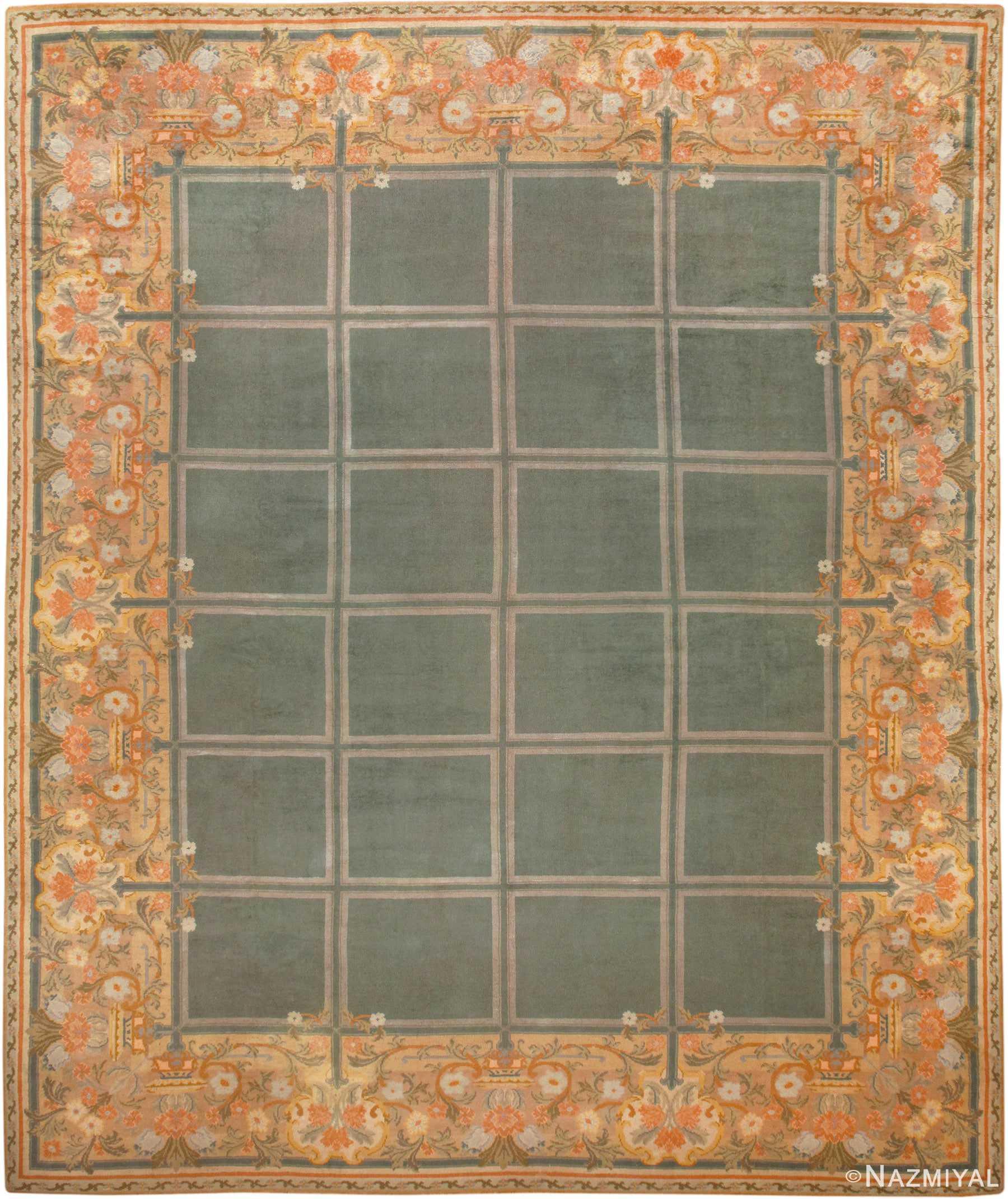 Antique Spanish Savonnerie Carpet 49845