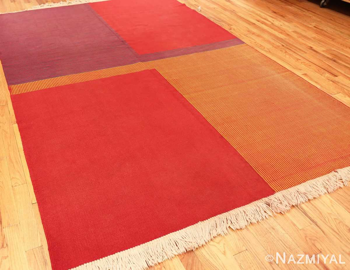 Overall Picture of Vintage French Art Deco Kilim Rug #49930 From Nazmiyal Antique Rugs in NYC