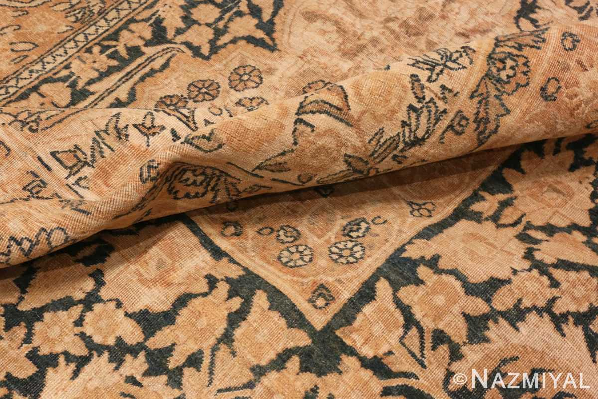 Picture of The Pile Of Antique Persian Kerman Rug #42703 from Nazmiyal Antique Rugs in NYC