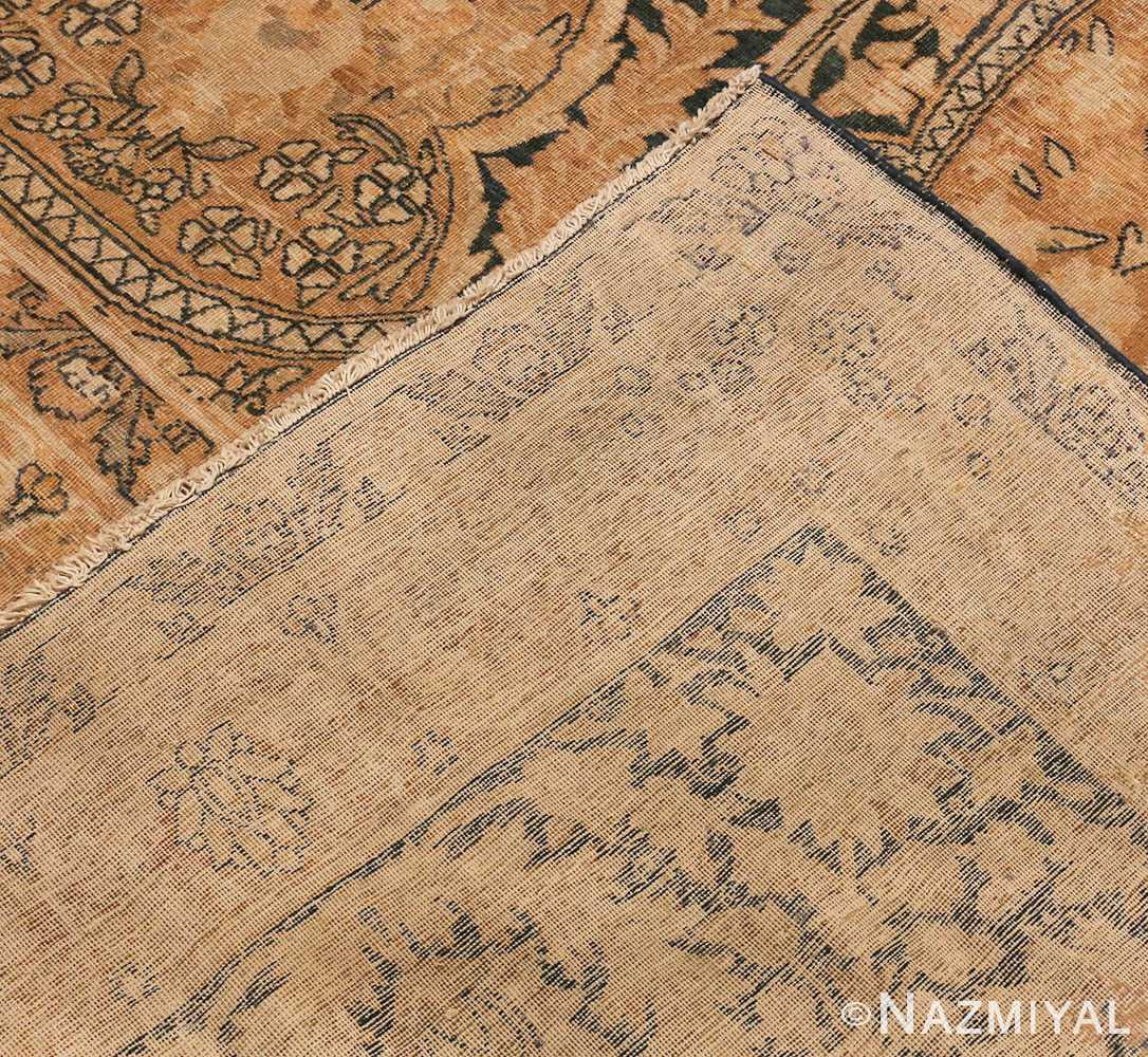 Picture of The Weave Of Antique Persian Kerman Rug #42703 from Nazmiyal Antique Rugs In NYC