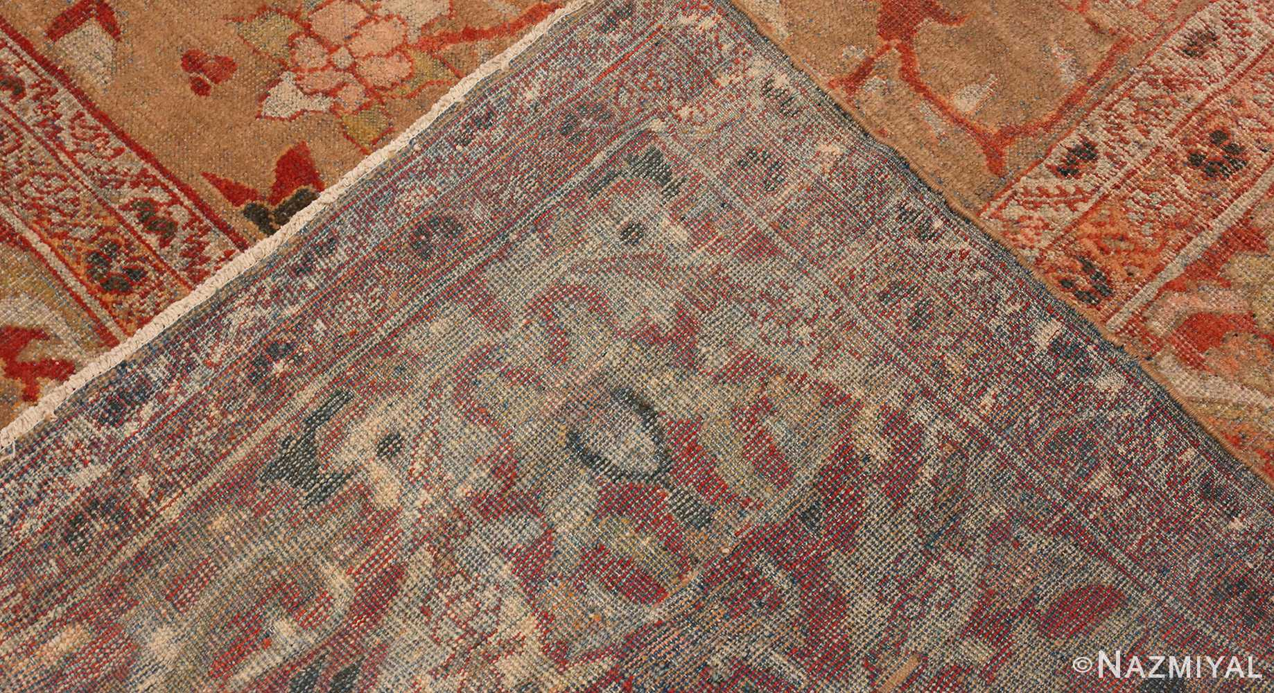 Picture of The Weave Of Antique Persian Sultanabad Rug #48944 from Nazmiyal Antique Rugs in NYC