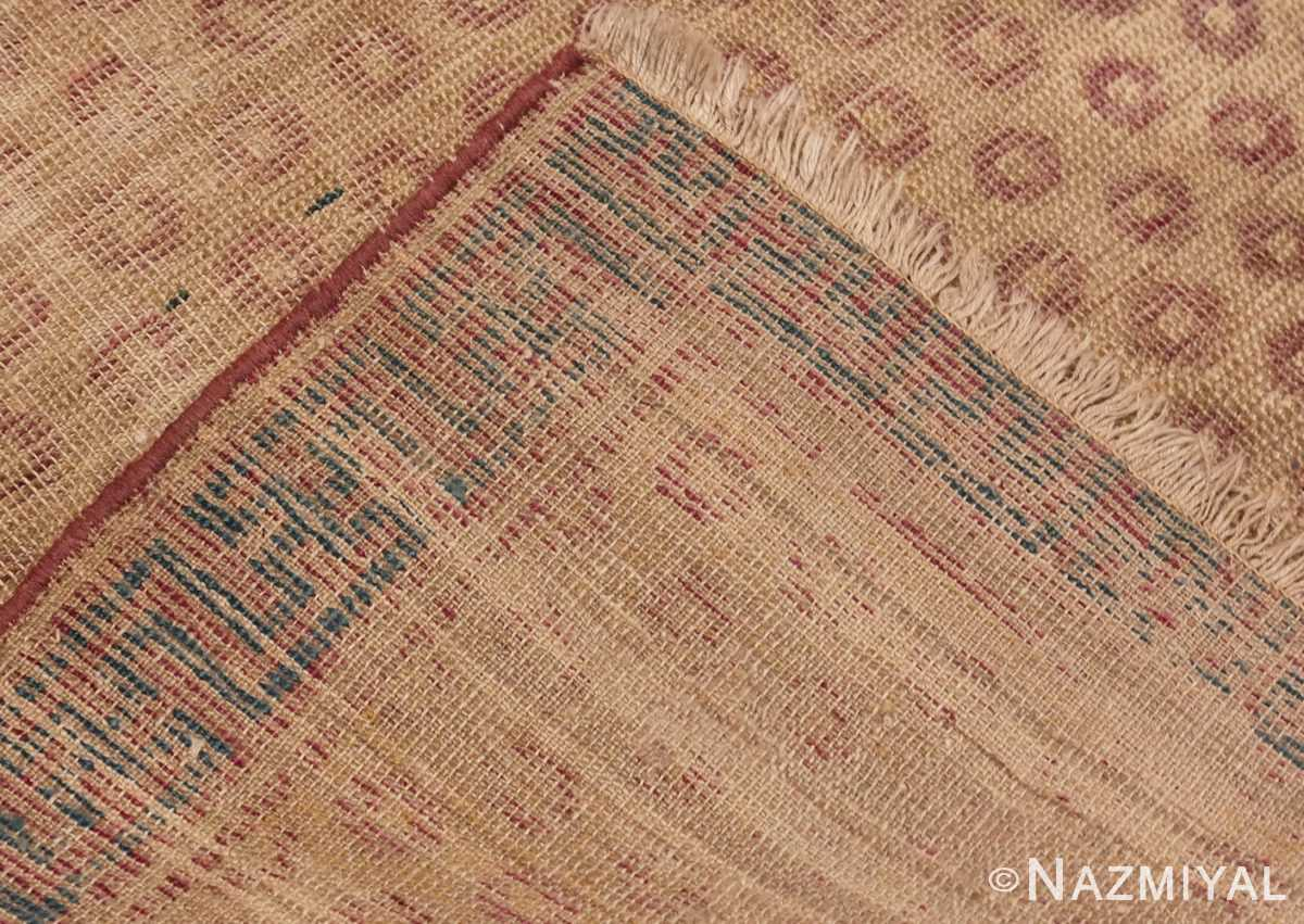 A picture of the weave Antique Shabby Chic Khotan Rug #49969 from Nazmiyal Antique Rugs in NYC