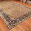 A full picture of the large vase design antique persian kerman rug #50701 from Nazmiyal Antique Rugs NYC
