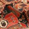 Pile picture of antique Caucasian Shirvan rug #70076 from Nazmiyal Antique Rugs in NYC
